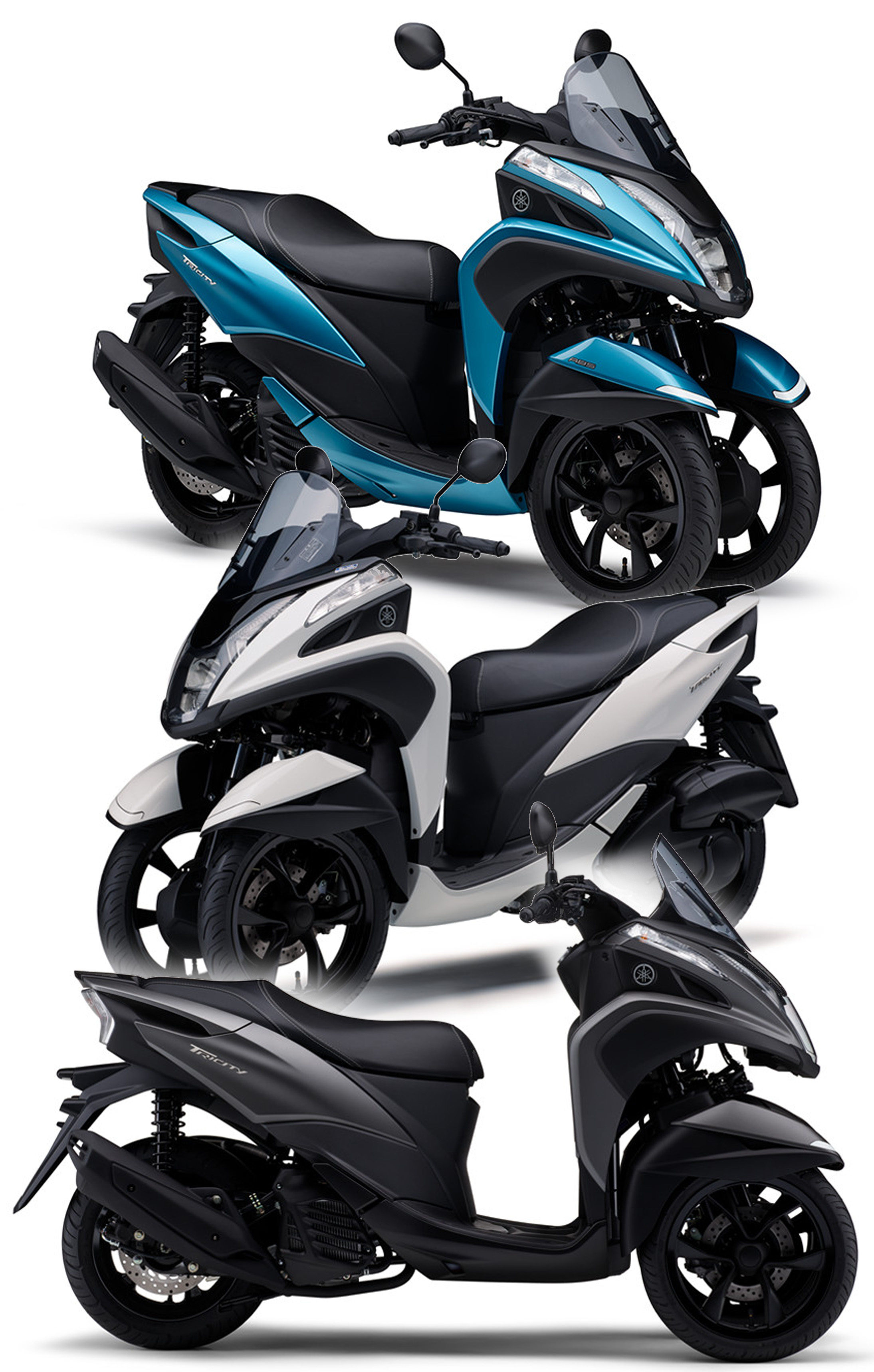 「TRICITY125/ABS」 2018年モデルを発売!